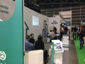 Reuniones en el stand de EcoAdaix en SIF Valencia 2016