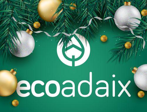 Decoración navideña ecológica de la mano de EcoAdaix