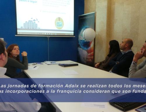 Jornada de formación de agentes de la propiedad inmobiliaria en Adaix