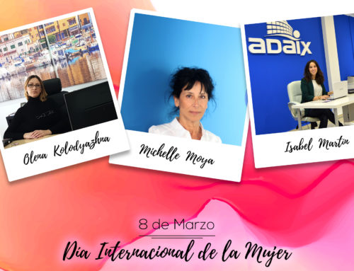 Adaix Group celebra el día internacional de la mujer con todas las mujeres que conforman Adaix