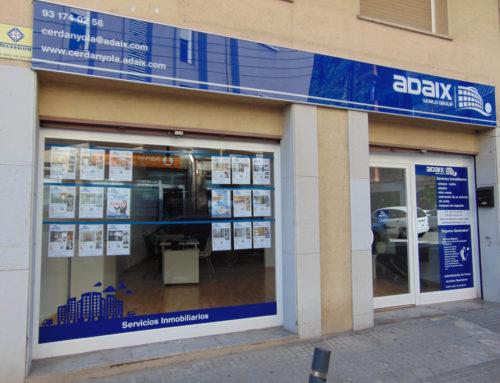 Cerdanyola del Vallès ya tiene una agencia inmobiliaria Adaix, Adaix Cerdanyola