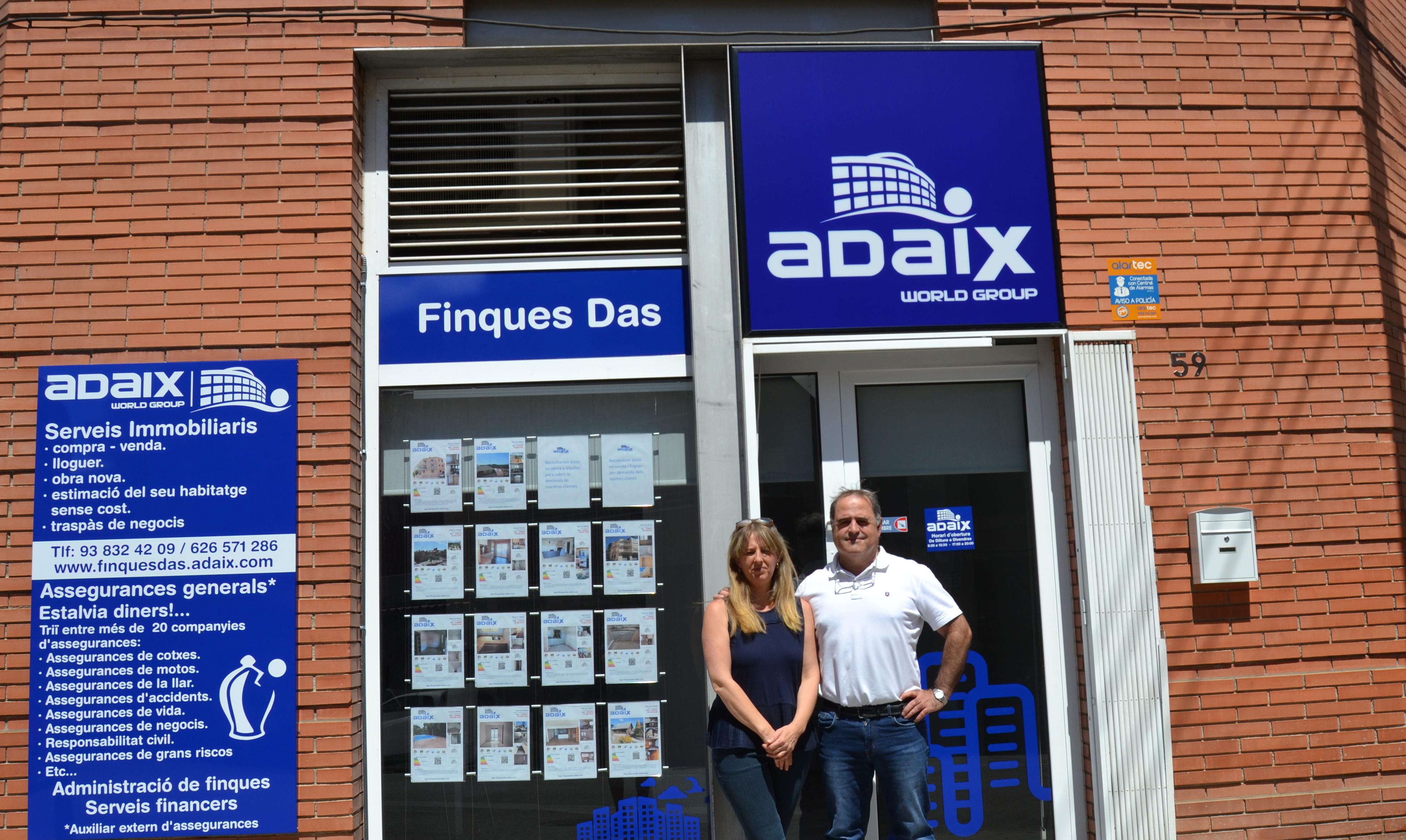 Nueva agencia inmobiliaria de Adaix en la ciudad de Rubí