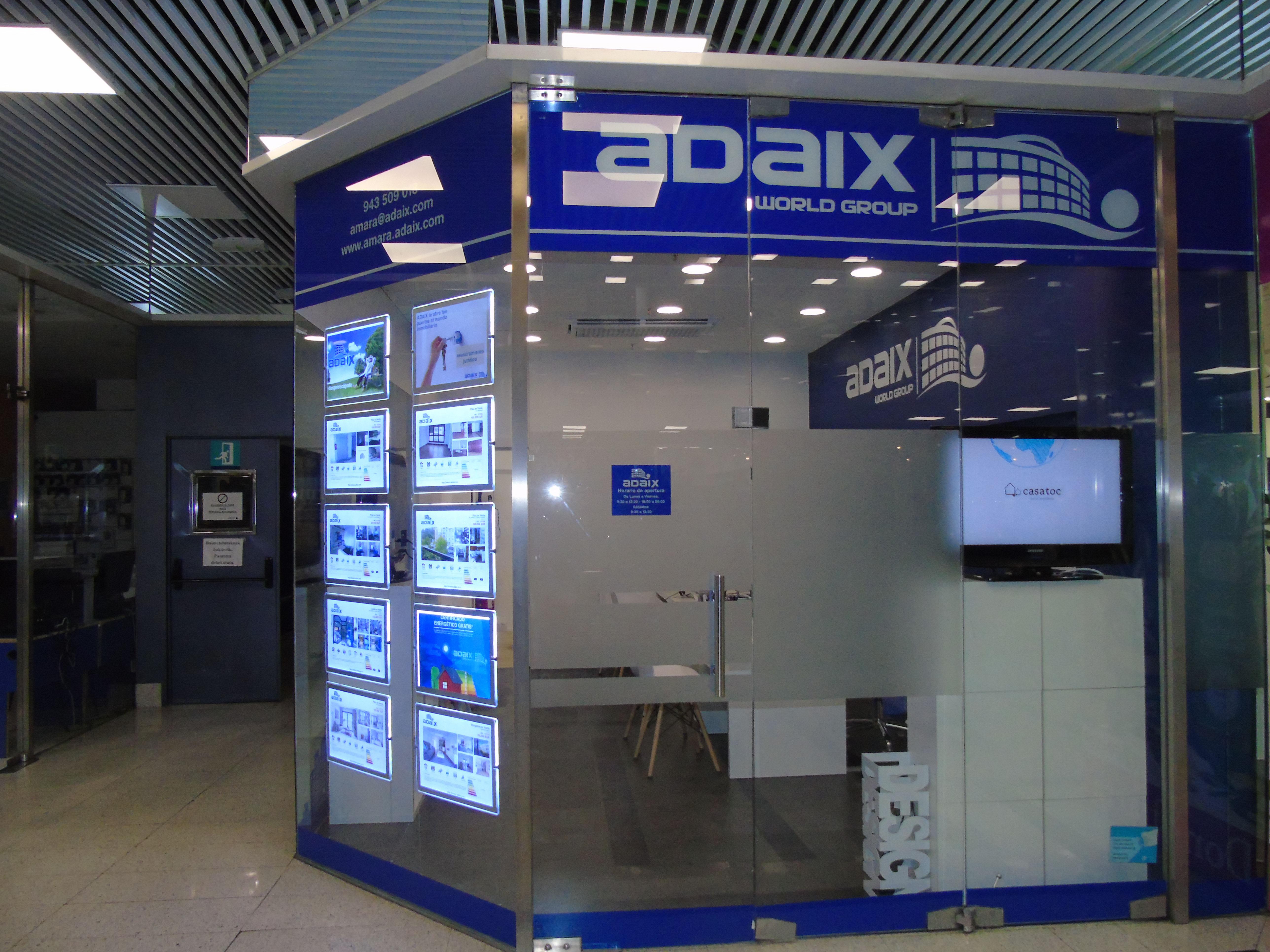 Donostia ya cuenta con una agencia inmobiliaria más de Adaix