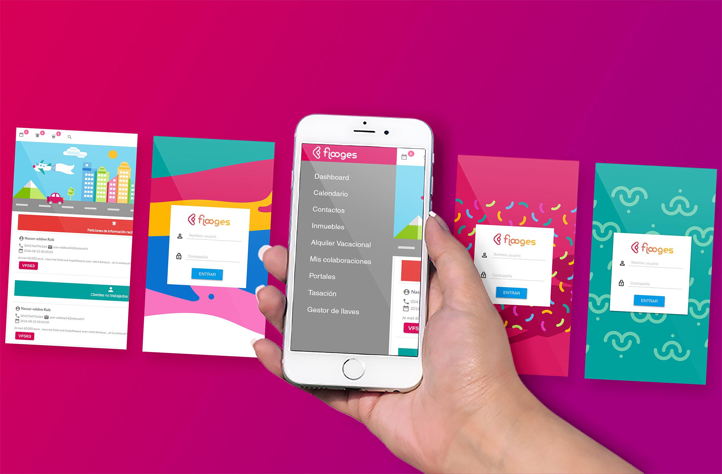 Flooges elige a Adaix para trabajar su app web en testeo