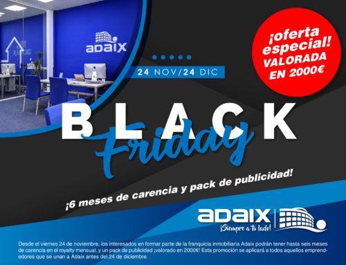 Black Friday Adaix con 2000€ de regalo