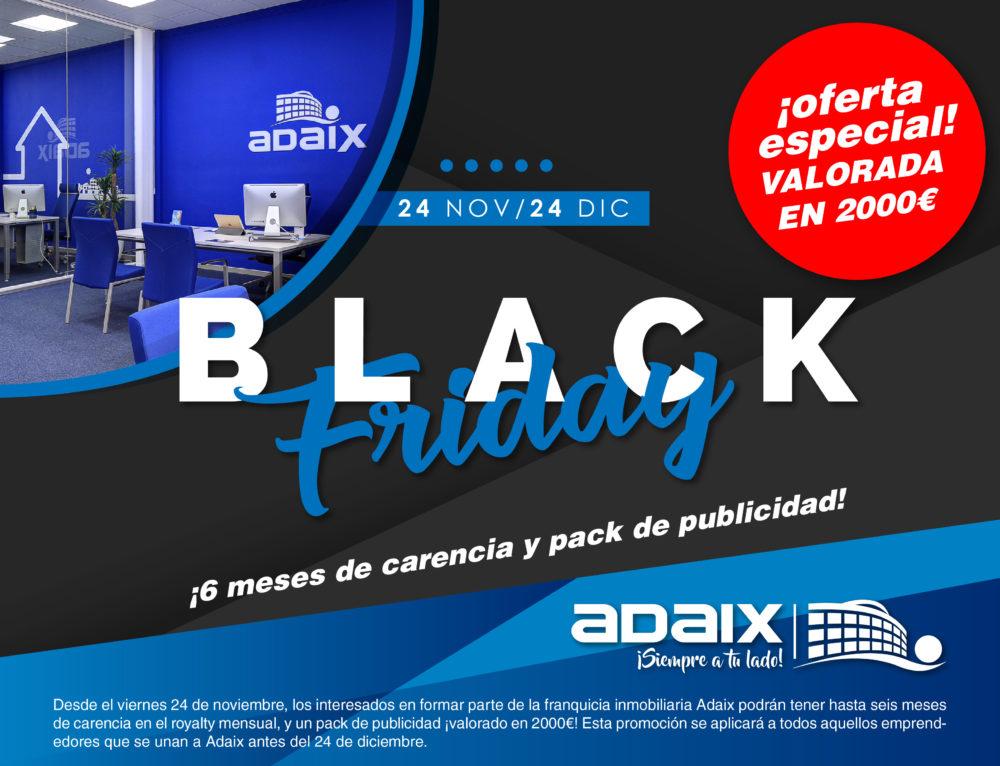 Black Friday Adaix con 2000 euros de regalo