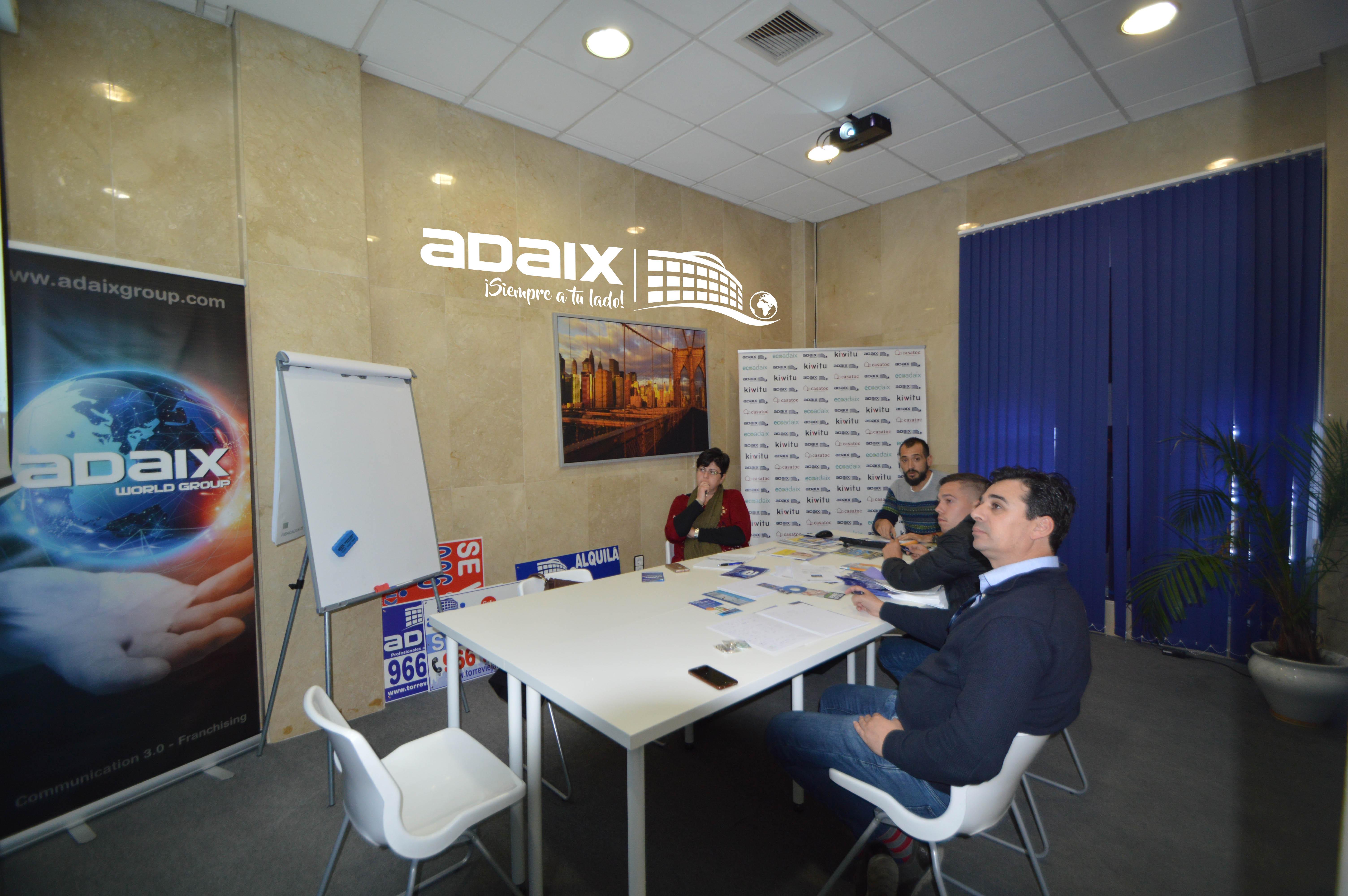 Formación agente inmobiliario para los nuevos Adaix