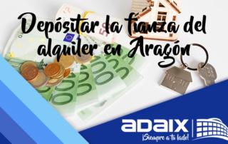Deposito alquiler Aragón
