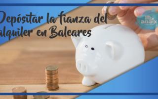 Deposito alquiler Baleares