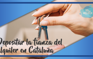 Depositar la fianza del alquiler en Cataluña