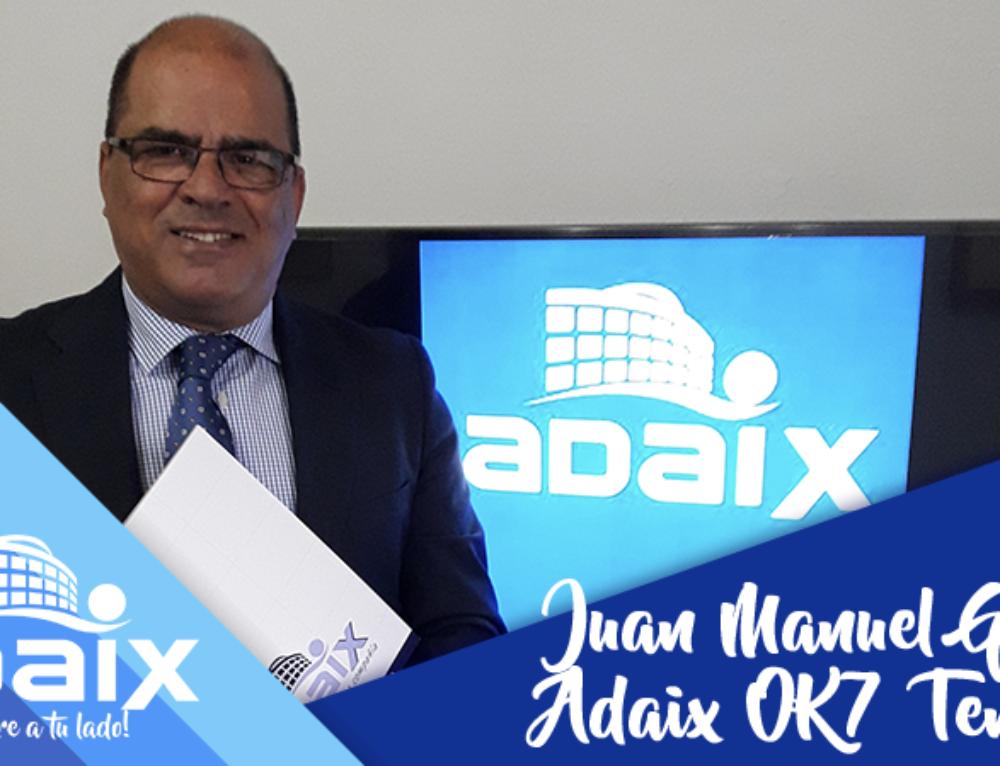Entrevista a Juan Manuel Godoy, gerente de Adaix OK7 Tenerife