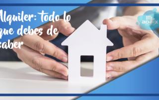 Alquiler de viviendas y locales