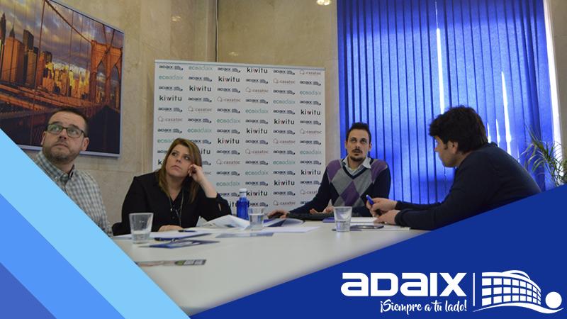 Formación Adaix a los profesionales de Úbeda y Valladolid