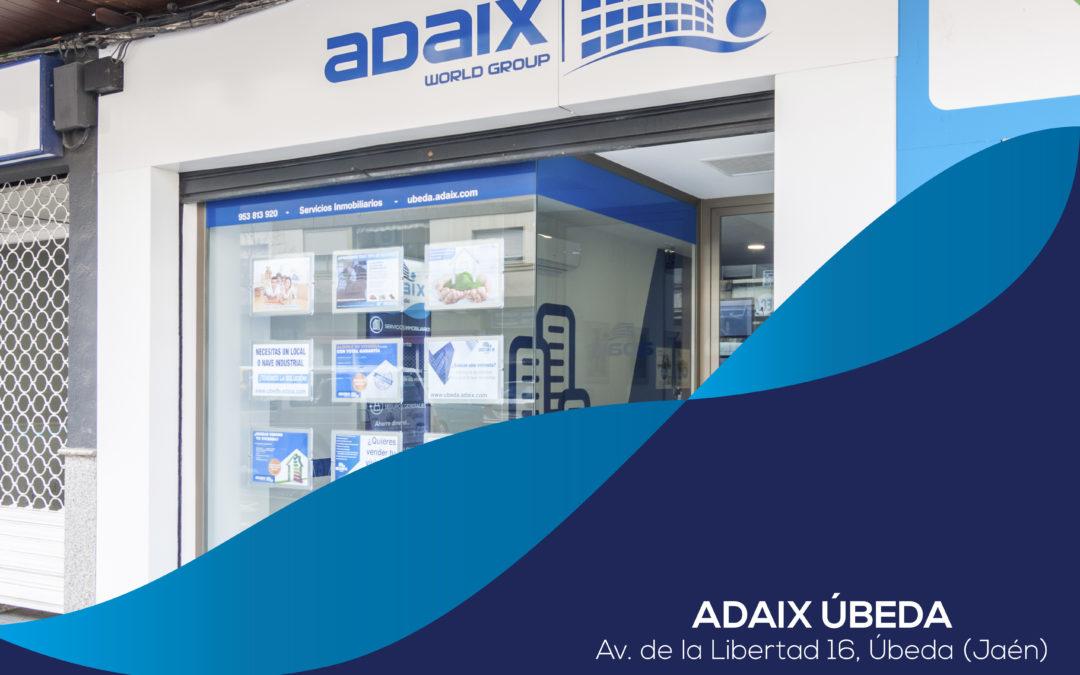 Apertura de la agencia inmobiliaria Adaix Úbeda