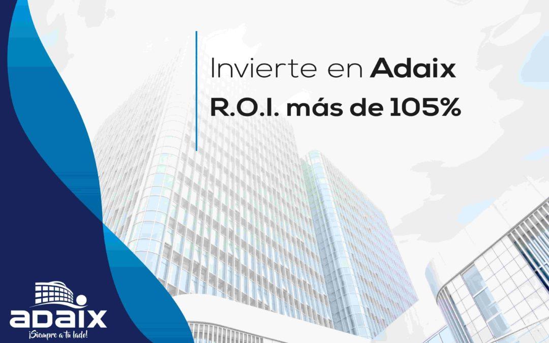 Adaix Expansión te ofrece una gran rentabilidad en una empresa con una larga trayectoria en el mercado