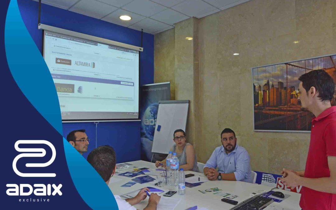 Formación primer centro Adaix Exclusive en León