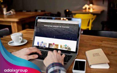 Descubre la nueva web de Adaix Group