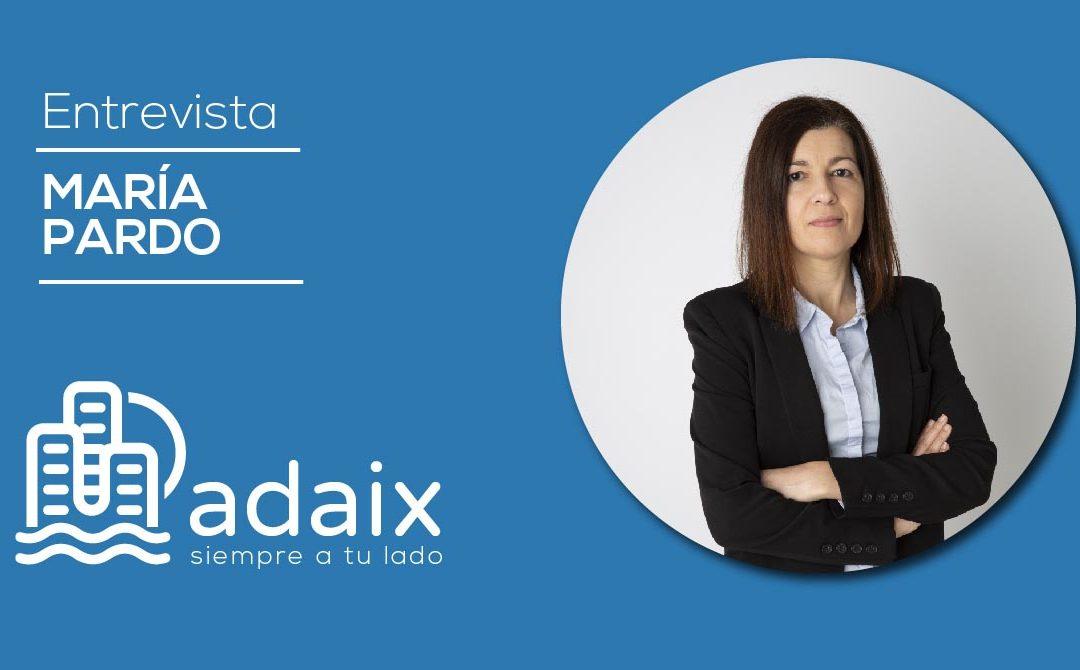 Entrevista a María Pardo, agente independiente de Adaix en Arteixo