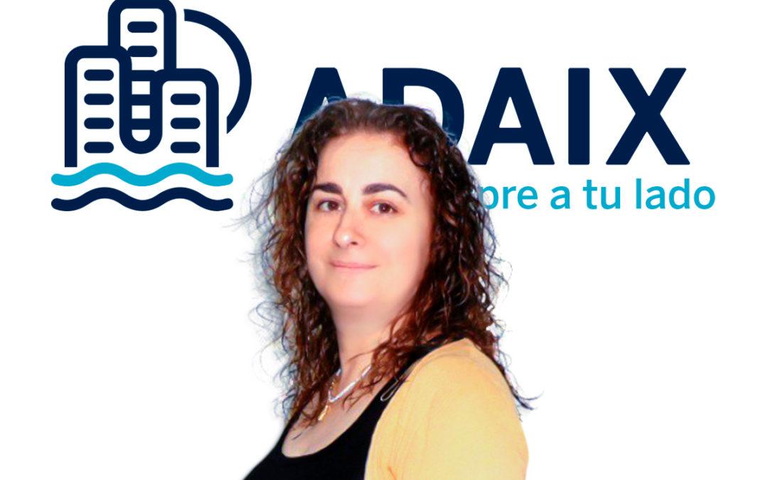 Entrevista Joaquina Hernandez responsable agencia Adaix Valencia