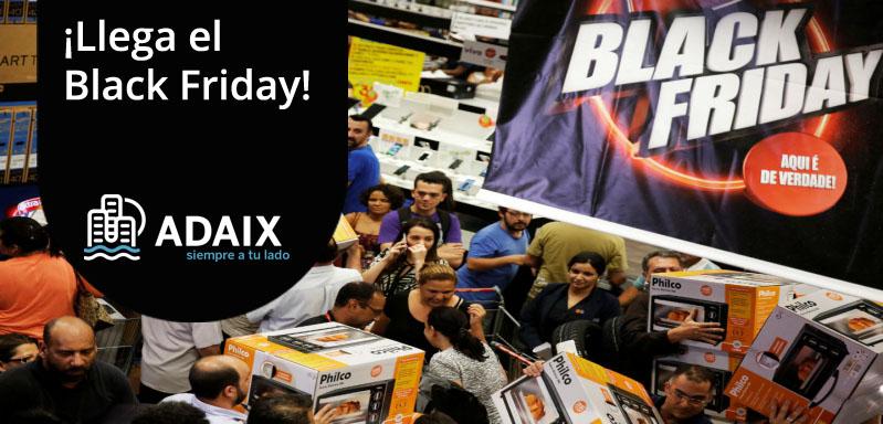 ¡Llega el Black Friday en Adaix!